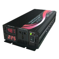 1500W 2000W Off Grid Solar Power Inverter Pure Sine Wave 48V DC to 220V 240V AC