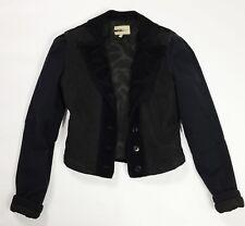 Blumarine jacket jeans velluto elegante luxury vintage donna usato giacca T4198
