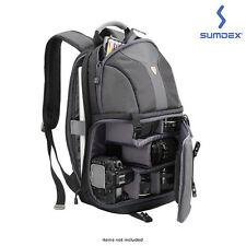 X-Sac DSLR Camera & Laptop Backpack - Black Free Shipping