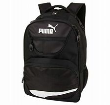 "Puma The Squad Black School Sport Travel 19"" Laptop Backpack Book Bag NWT"