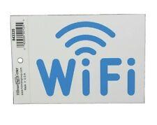 Hillman 6x4 Adhesive Vinyl Wifi Sign 843335 10 Piece Lot