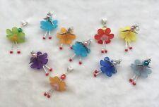 10 Fairy Angel Good Luck Charms Pendants Wings Handmade Free Ship W Bail Bead