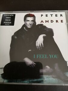 Peter Andre I Feel You 4 Track CD + Poster UK Number 1 1996