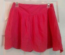 Umgee USA  Coral Eyelit Scalloped Hem Skirt, Sz. S