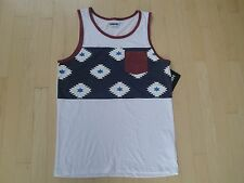 Tony Hawk Men's White Tank Top With Pocket Size: Small $25