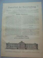 1897 49 Karlsruhe Amtsgefängnis Walkenried