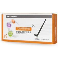 COMFAST cf-wu755p 150Mbps Network USB Chiavetta Wi-Fi con 5dBi Antenna esterna UK