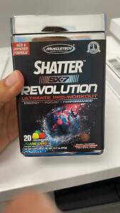 Shatter SX-7 Revolution Pre Workout 20 Servings By Muscletech PRE-WORKOUT 05/21
