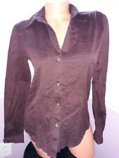 Theory SIZE M/M dress  BUTTON DOWN SHIRT Maroon
