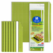 """Japanese 10"""" x 9.5"""" Professional Grade Plastic Sushi Rolling Mat, Made in Japan"""