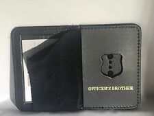NYPD Police Officer Mini Badge Officer  Brother bi-fold Wallet - 2017 NYPD PBA