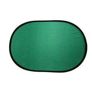 100*150CM Oval Collapsible Portable Reflector Blue and Green Screen Chromakey