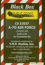 1/32 A-7D AIR FORCE resin cockpit set TRUMPETER BLACKBOX CS32037
