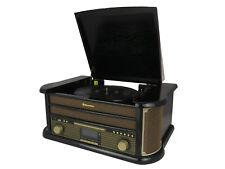 Roadstar HIF-1898D+BT Retro Turntable with CD Player, DAB Radio & Bluetootooth