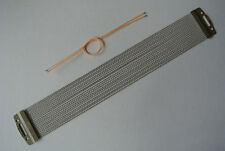 """PEARL14"""" 20-STRAND Snare Wires w/ New Snare Cords for Your Snare Drum! #B70"""