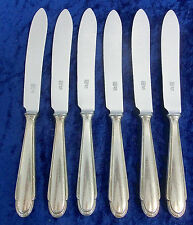 WMF 200 Kreuzband Besteck 6 Messer Menümesser Speisemesser Art.Nr. 2520/06.17k