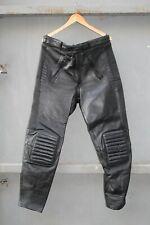 POLO Pantalone pelle moto Tg 56 sportivo custom VINTAGE RACING (cod.81)
