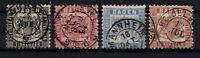 G128712 / GERMAN OLD STATES / BADEN / MI # 17 / 20 USED CV 110 $