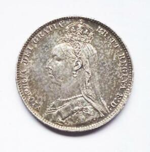 Good grade 1891 Victorian shilling