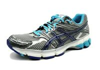 Asics GT 1000 Duomax Womens Size 8 Gray Blue Purple Running Shoes Mesh Sneakers