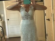 Lazaro Replica Wedding Dress Size 4 NEW