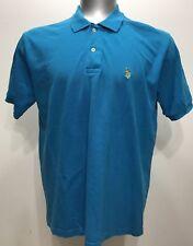US Polo Assn. Blue Men Short Sleeve Polo/rugby Shirt Size XL
