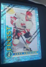 1994-95 Finest RC Jeff Friesen Card 159 with Protector