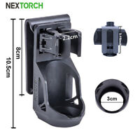 """NEXTORCH Tactical 360° Angle Rotatable Flashlight Holster For 1""""-1.25"""" Holder"""