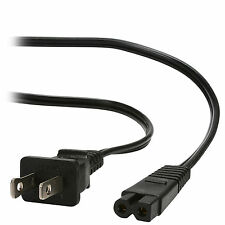 Polarized 2-Pin Universal AC Power Cord 6 ft. Type D