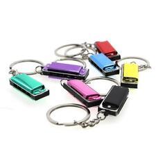 Multicolor Metal Key Ring Xmas Kid Child Boy Toy Gift Harmonica Design Keychain