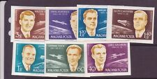 Hungary Sc C221-7 Nh Imperf Issue Of 1962 - Space