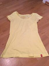 T Shirt Gelb Esprit Edc Essential Größe S Damen Rundhals