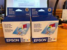 2 Epson Color Ink Cartridges for Epson Stylus Photo 700 750 Ex (S020193/S020110)