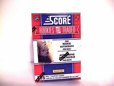 2010-11 2011 Score Rookies And Traded Hockey Box AUTO Hobby FREE SHIP Autograph