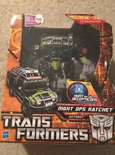 Hasbro Transformers Hunt for the Decepticons - Voyager Class, Night Ops Ratchet