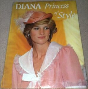 Diana Princess of Style by Trevor Hall Hardback Book The Cheap Fast Free Post