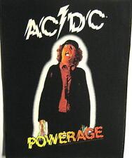 """AC/DC RÜCKENAUFNÄHER / BACKPATCH # 7 """"POWERAGE"""""""