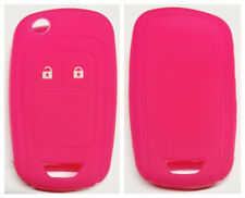 PINK 2 BUTTON FLIP KEY COVER SUITS CHEVROLET HOLDEN COLORADO AVEO CRUZE TRAX