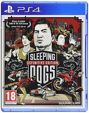 Sleeping Dogs-Playstation 4 (PS4) - UK/PAL