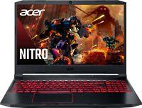 NEW Acer Nitro 5 15.6 FHD Intel i5-10300H 4.5GHz 256GB SSD 8GB RAM GTX1650 Win10