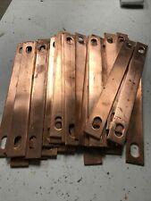 Lot Of 50 Copper Jumper Straps 6 1516long X 34 Wide X 007 Conductivity