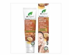 Dr Organic Creamy Face Wash - Organic Moraccan Argan Oil 150ml