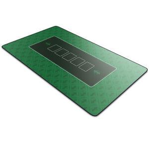 CSL Profi Pokermatte 1000 x 600 x 3 mm XXL-Format Pokerteppich Pokertischauflage