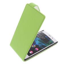 étui pour Crête De WIKO FAB 4G Smartphone style rabattant protection vert