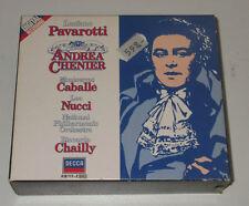 2 CD BOX/ANDREA CHENIER/CABALLE/PAVAROTTI/CHAILLY/Decca 410117-2