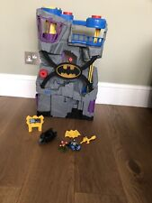 Fisher Price Imaginext DC Super Friends Batcave And Figures