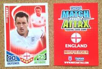 Topps Match Attax World Cup 2010 Football Player Cards - Various Teams E to G