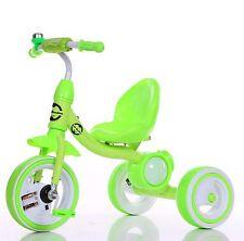 Little BAMBINO KIDS Triciclo per bambini 3-6 anni illumina ruote & MUSICA VERDE