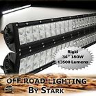 180W 34 In LED Light Lamp Bar Combo Spot Flood Work Driving Truck 4WD Off Road