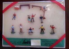HO Kramer Products Gift Set # 13, Backyard Baseball Team NIB Detailed Cast Metal